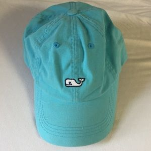Turquoise Vineyard Vines Baseball Hat